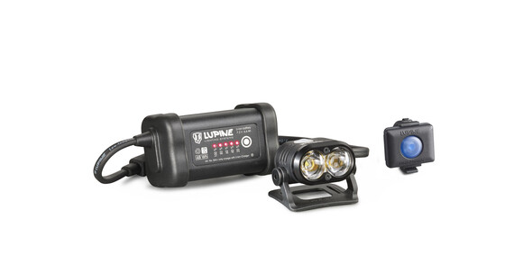Lupine Piko R 7 Helmlampe schwarz